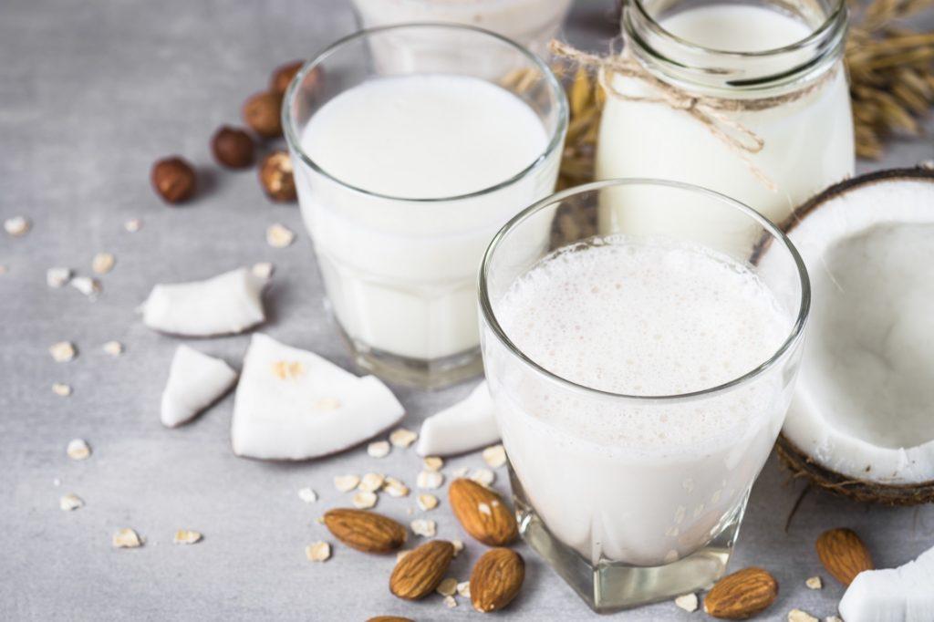 mleko, mleko roślinne,