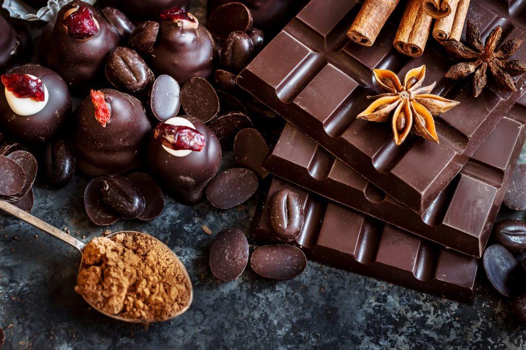 czekoladki, słodycze