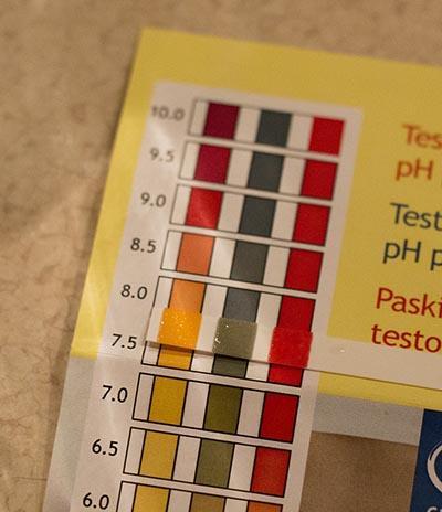 test ph 8