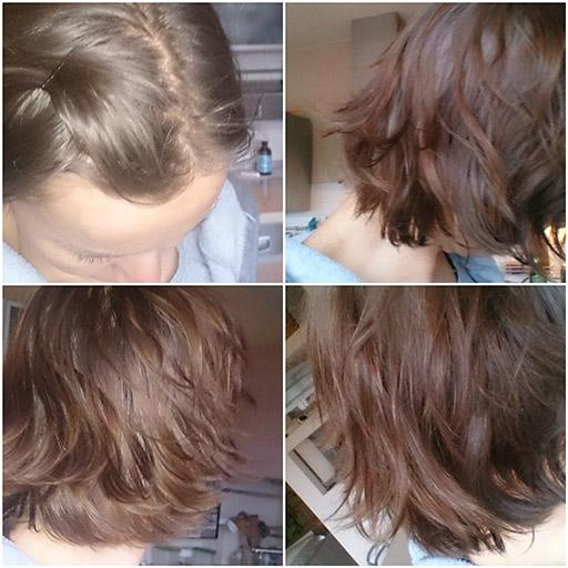 Eksperyment z włosami - dzień 6 - 11-01-2015