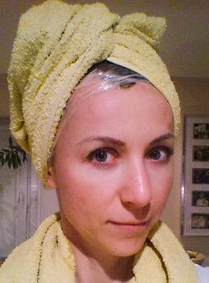 Eksperyment z włosami - dzień 5 - 10-01-2015