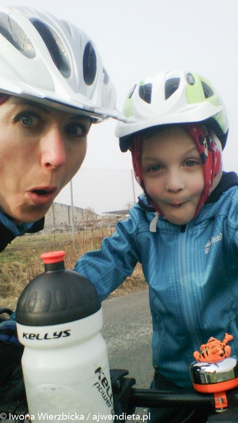 Iwona Wierzbicka - rowerowo z Krisem