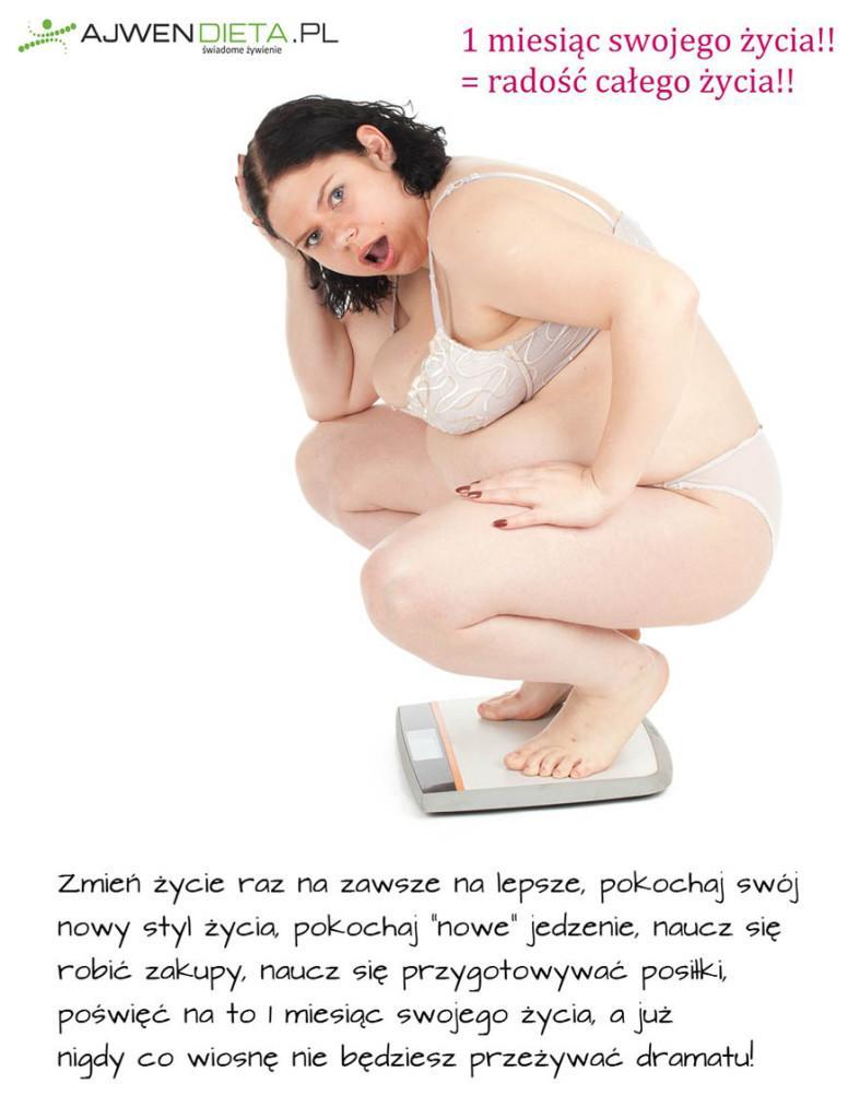 poświęć jeden miesiąc by całe życie mieć szczupłe ciało