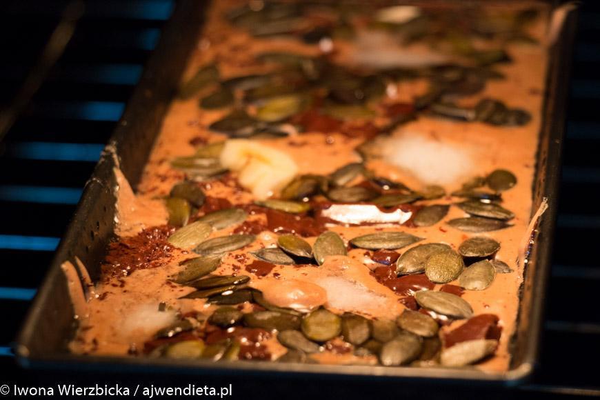 Chleb bezglutenowy z mąki kasztanowej i banana