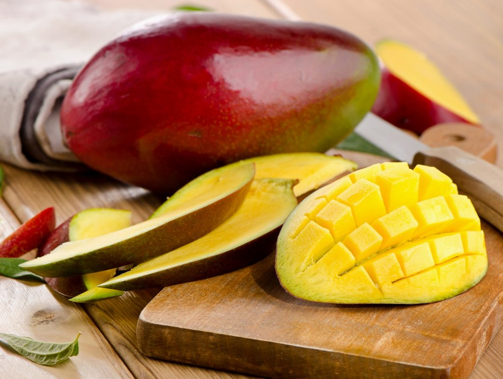 placuszki kasztanowe z mango