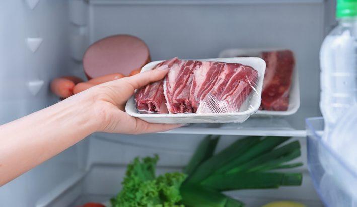 mięso, mrożenie