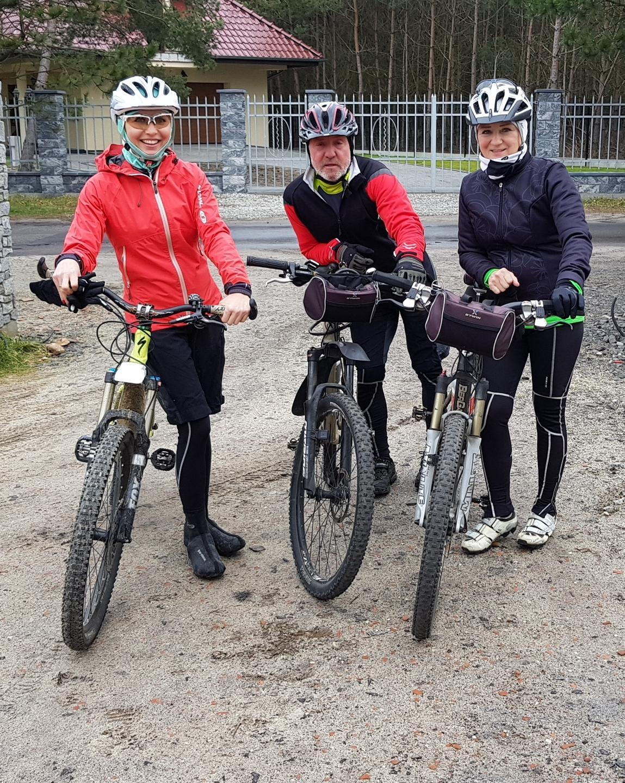 rower z rodzicami - iwona wierzbicka