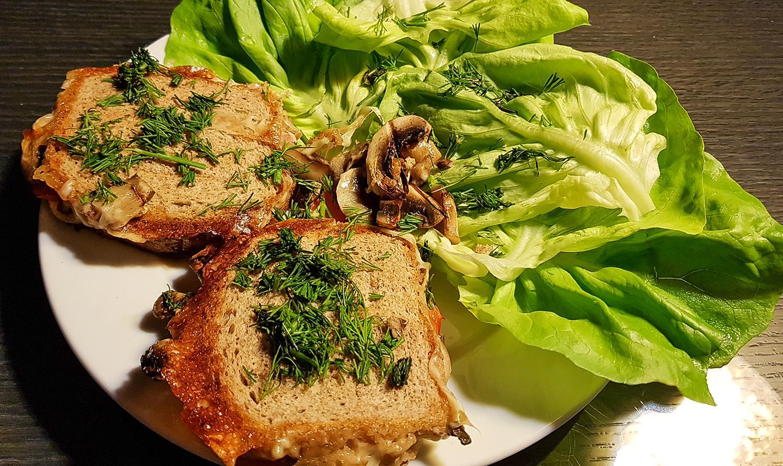kolacja - tosty - iwona wierzbicka