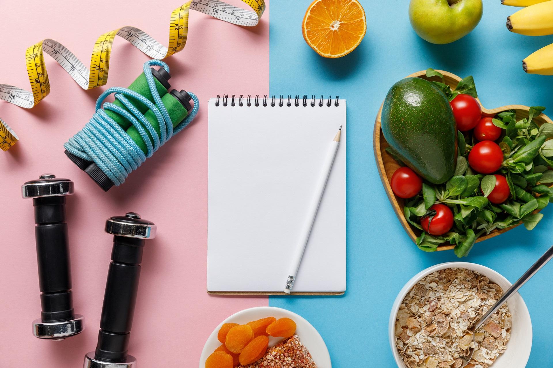 postanowienia noworoczne, cel, dieta, odchudzanie